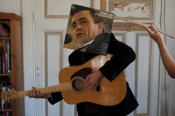 Moro med plater: Johnny Cash