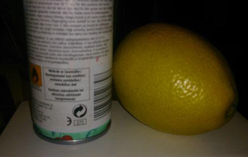 Sitron og sjampo