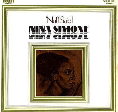 Nuff Said av Nina Simone