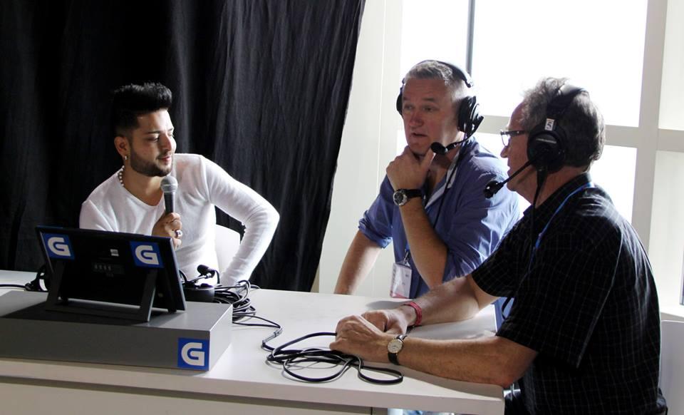 Dzambo snakker med Arne Berg og Sigbjørn Nedland